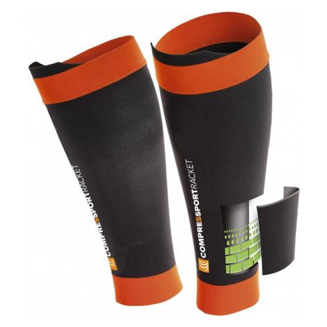 Kompresné Návleky Na Holene Compressport Pro Silicon R2 Black/Orange