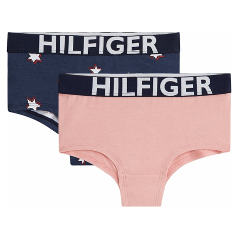 Tommy Hilfiger farebný 2 PACK kraťaskových nohavičiek 2PK Shorty Stars
