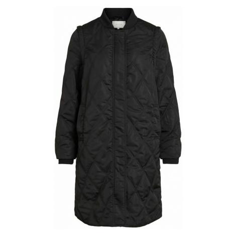 VILA Prechodný kabát 'Alana'  čierna