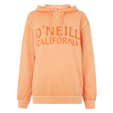 O'Neill LW ADRIA HOODIE oranžová - Dámska mikina