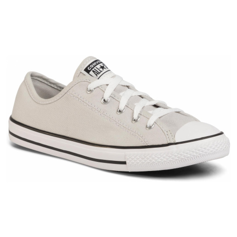 Tramky CONVERSE - Ctas Dainty Ox 564983C Mouse/White/Black