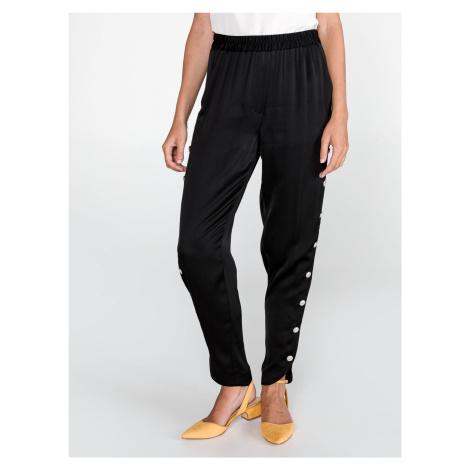 Kalhoty Just Cavalli Čierna