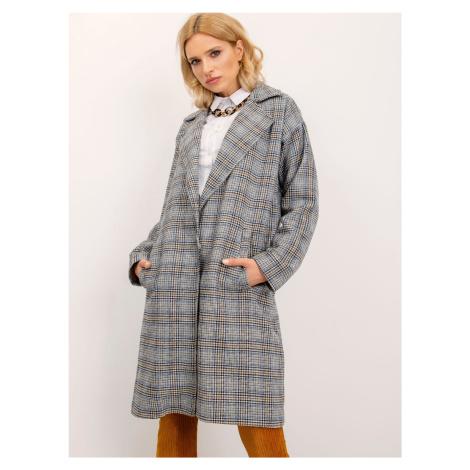 Dámsky kockovaný kabát