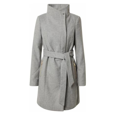 VERO MODA Prechodný kabát  svetlosivá