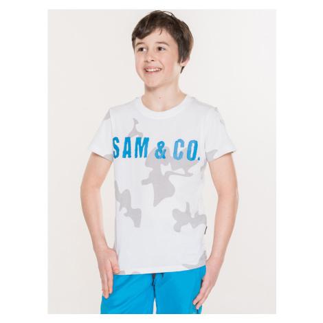 Triko dětské Sam 73 Biela