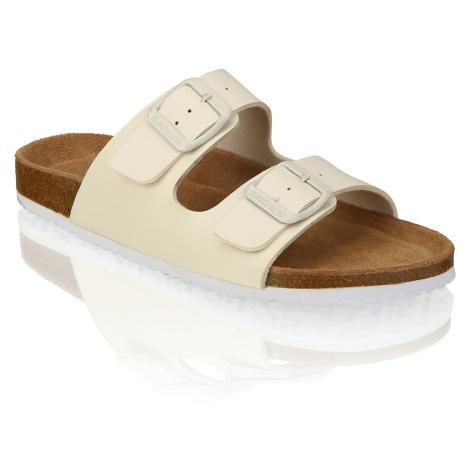 Natura domáca obuv biela