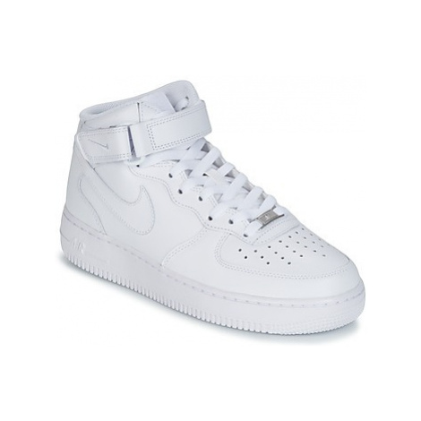 Nike AIR FORCE 1 MID 07 LEATHER Biela