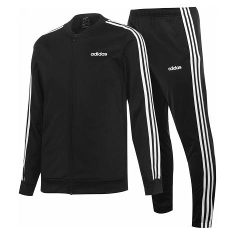 Adidas 3 Stripe Polo Tracksuit Mens