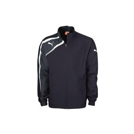 Puma SPIRIT WOvoN JACKET JR modrá - Detská športová bunda