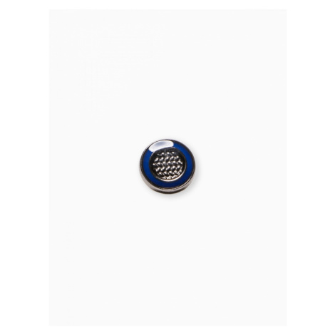 Ombre Clothing Men's lapel pin A240 Navy/Blue
