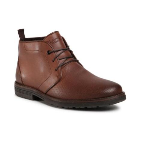 Šnurovacia obuv Lanetti MBS-ORKAN-23 Imitácia kože/-Imitácia kože