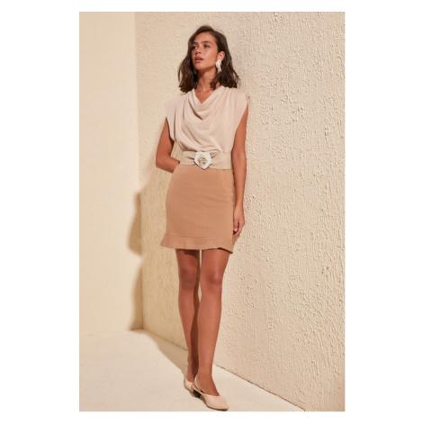 Women's skirt Trendyol Volan Detailed