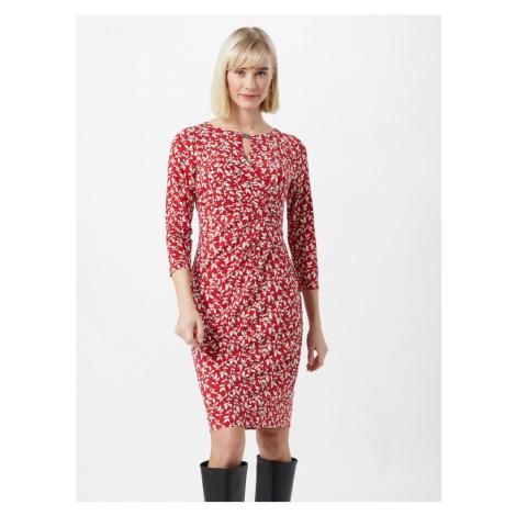 Lauren Ralph Lauren Šaty 'Carlonda'  červená / biela / čierna