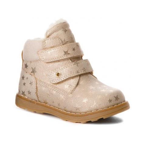 Šnurovacia obuv Nelli Blu CM2029-A Materiał tekstylny,koža ekologická