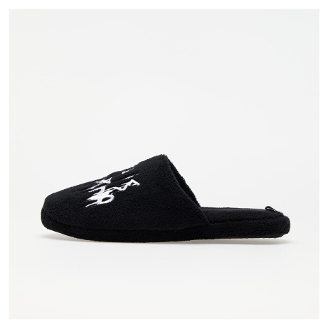 LIFE IS PORNO x Footshop House Slippers Black