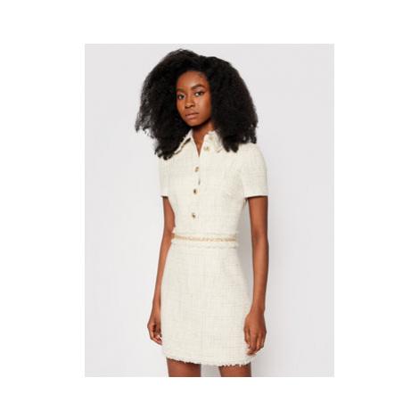 Marciano Guess Úpletové šaty Vanja 1GG728 9543Z Béžová Slim Fit