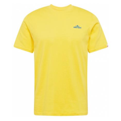 ELEMENT Tričko 'DUGGAR'  žltá / svetločervená / nebesky modrá