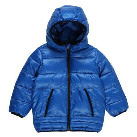 UNITED COLORS OF BENETTON Zimná bunda  modrá / čierna
