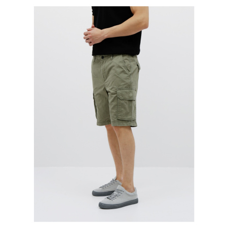 Shin Original Khaki Shorts Shine Original