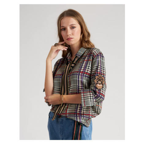 Košeľa La Martina Woman Shirt Long Sleeves Print