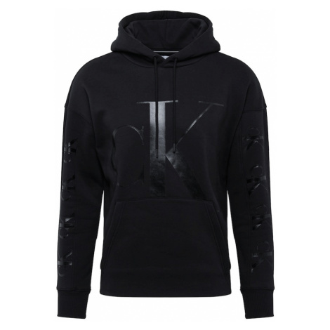 Calvin Klein Jeans Mikina  čierna