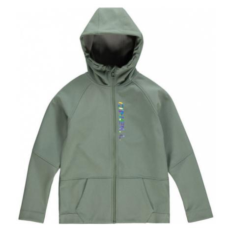 O'Neill PG GIRLS SOFTSHELL zelená - Dievčenská softshellová bunda