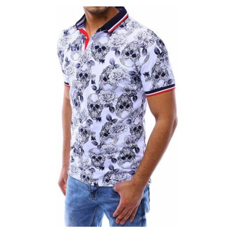 Men's white polo shirt PX0280 DStreet