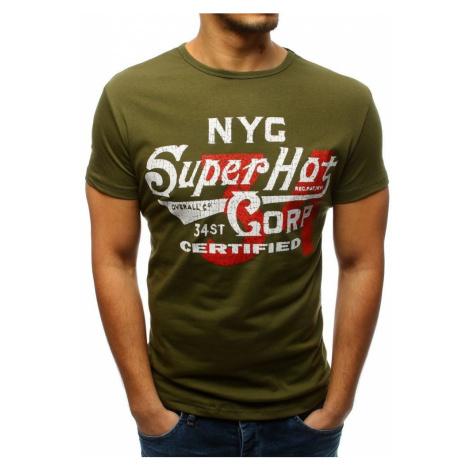 Zelené pohodlné tričko