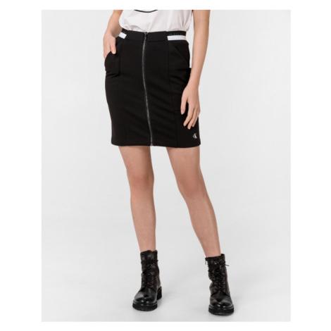 Calvin Klein Milano Monochrome Sukňa Čierna