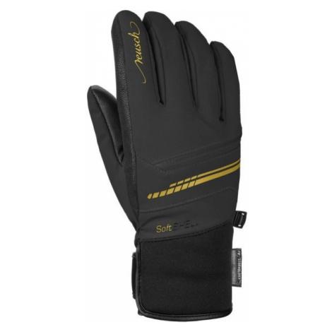 Reusch TOMKE STORMBLOXX čierna - Lyžiarske rukavice