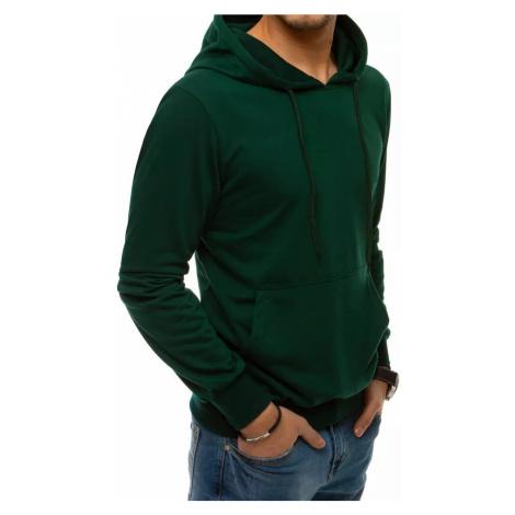 Green men's hoodie BX4974 DStreet