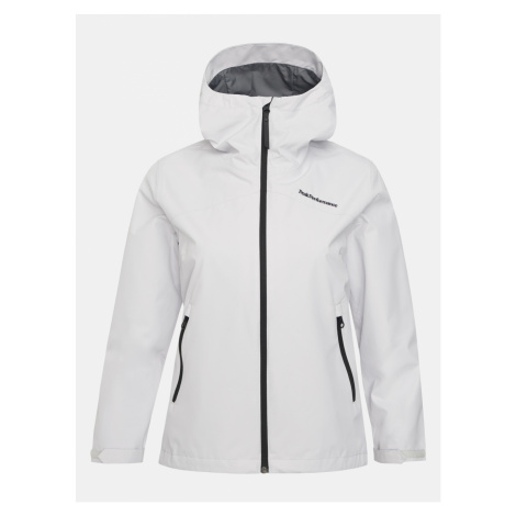 Bunda Peak Performance W Coastal Jacket - Biela
