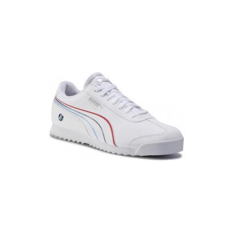 Puma Sneakersy Bmw Mms Roma 306526 02 Biela