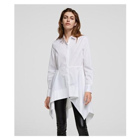 Košeľa Karl Lagerfeld Peplum Tunic Shirt
