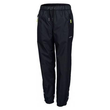 Lewro GOUDY čierna - Detské šuštiakové nohavice