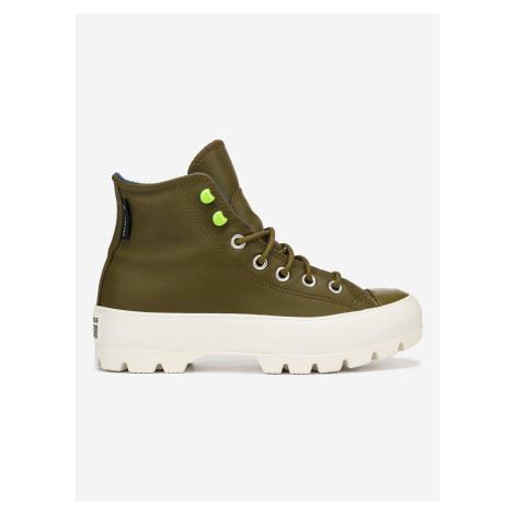 Chuck Taylor All Star Lugged Kotníková obuv Converse Zelená