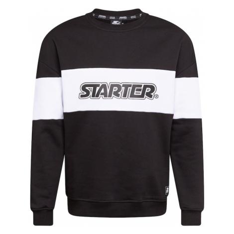 Starter Black Label Mikina  biela / čierna