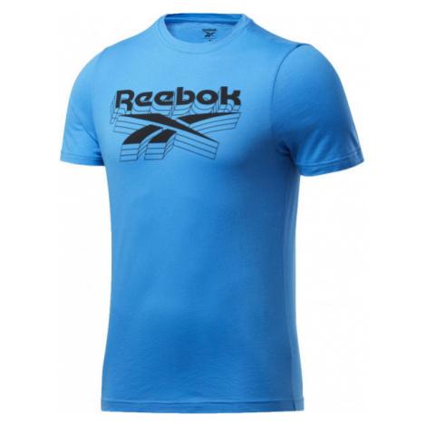 Reebok GS OPP TEE modrá - Pánske tričko