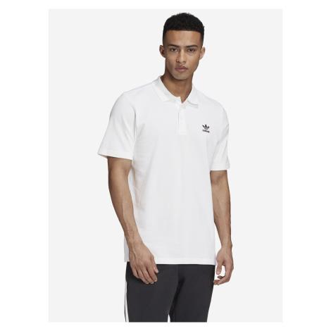 Essentials Polo triko adidas Originals Biela