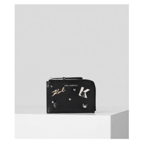 Púzdro Na Platobné Karty Karl Lagerfeld Karl Seven Pins Zip Ch