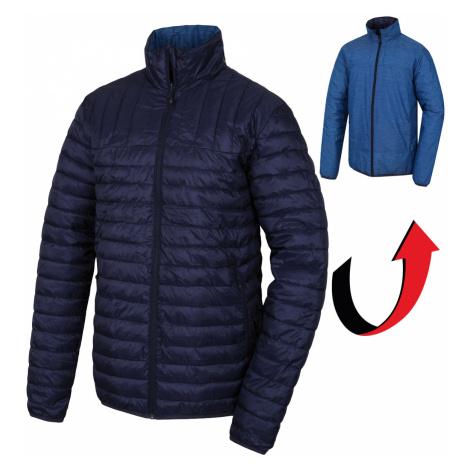 Husky Nodiq tm.modrá / tm.modrá, Pánska plnená obojstranná bunda