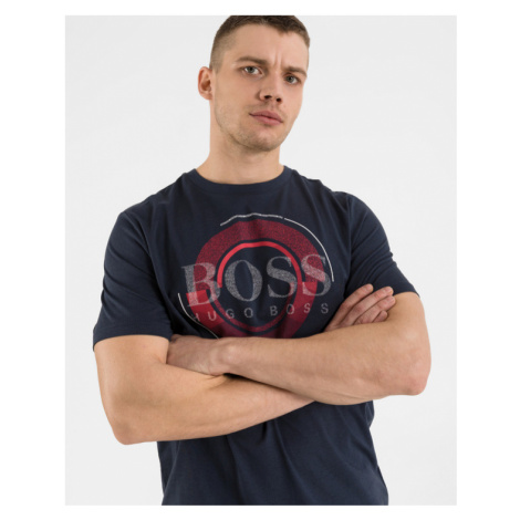 BOSS Teeonic Tričko Modrá Hugo Boss