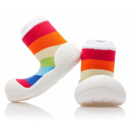 ATTIPAS Detské topánočky Rainbow White