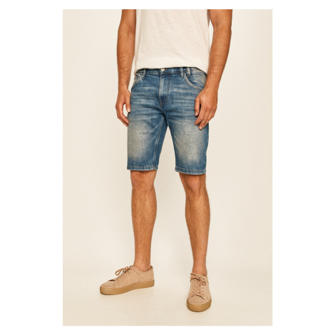 Tom Tailor Denim - Rifľové krátke nohavice