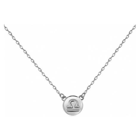 JVD Strieborný náhrdelník s príveskom Váhy SVLN0165XF300VA