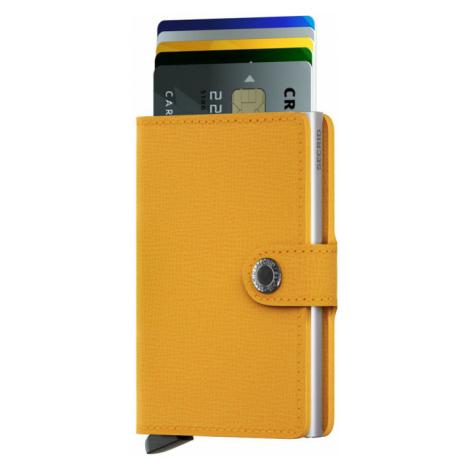 Secrid Miniwallet Crisple Amber-One size žlté MC-Amber-One size