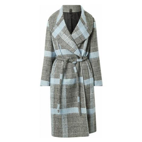 DRYKORN Prechodný kabát 'CRANBROOK'  svetlomodrá / čierna / biela