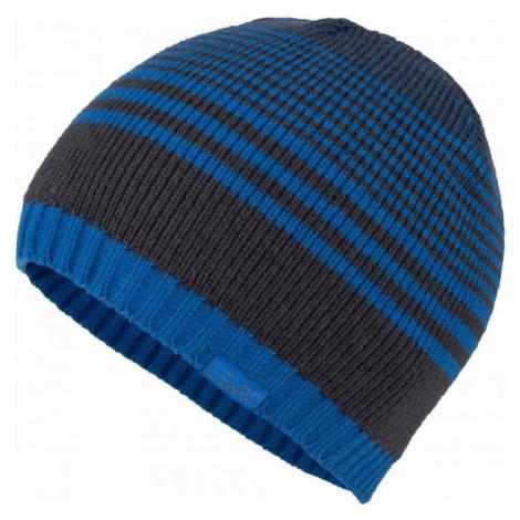 Lewro MENFIS modrá - Chlapčenská pletená čiapka