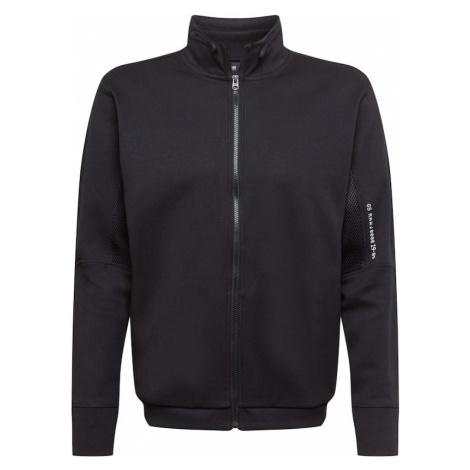 G-Star RAW Tepláková bunda  čierna / biela