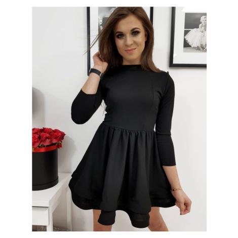 Dámske čierne šaty ABRIANA ey1067
